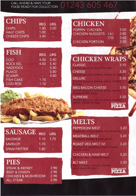 menu 1 2020