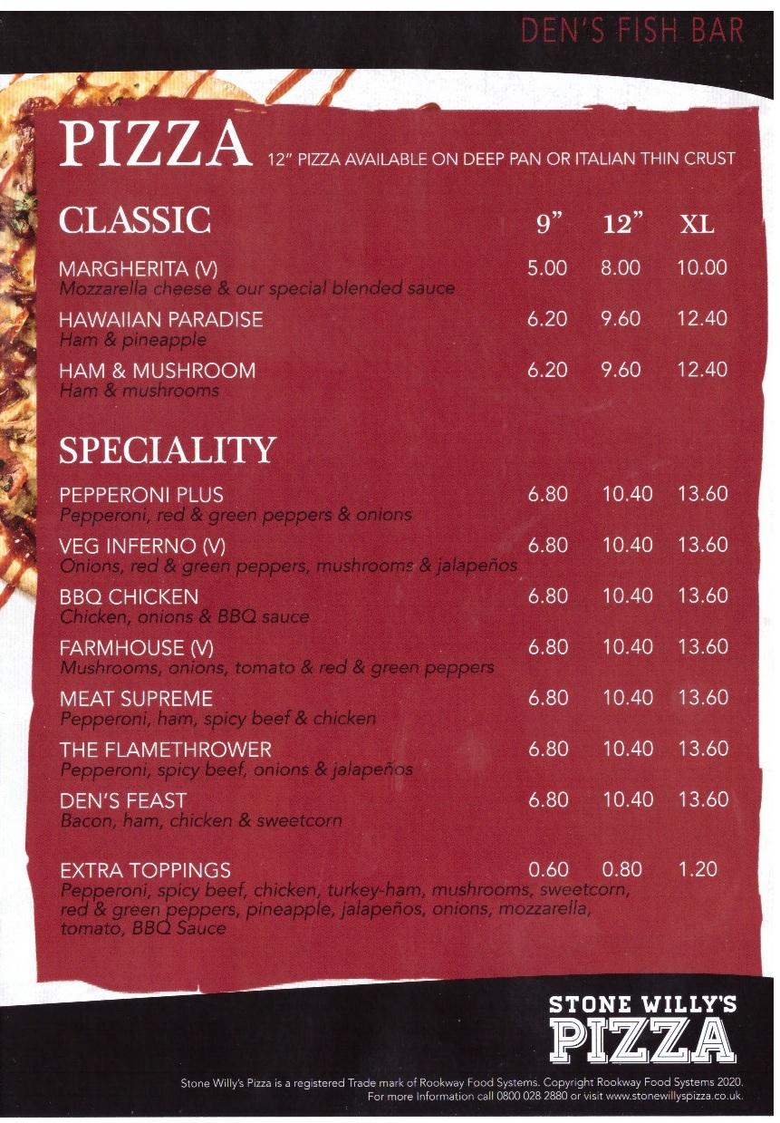 menu 2 2020